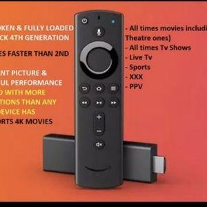 Amazon fire TV stick 4th generation with kodi